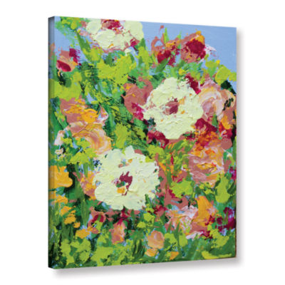 Brushstone Arylies Garden Gallery Wrapped Canvas Wall Art