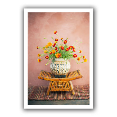 Brushstone Asian Floral Canvas Wall Art