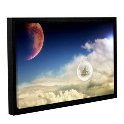 Brushstone Atlantis Gallery Wrapped Floater-FramedCanvas Wall Art