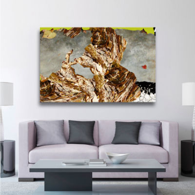 Brushstone Asian Surreal Gallery Wrapped Canvas Wall Art