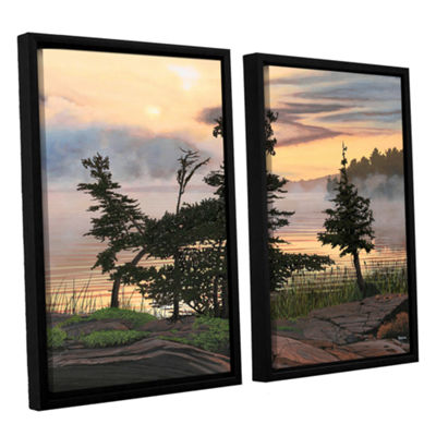 Brushstone Auburn Evening 2-pc. Framed Canvas WallArt