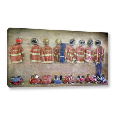 Brushstone Auburn Fire Department Gallery WrappedCanvas Wall Art