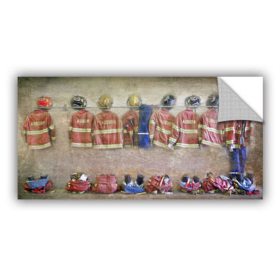 Brushstone Auburn Fire Department Removable Wall Decal