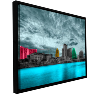 Brushstone Austin Gallery Wrapped Framed Canvas Wall Art