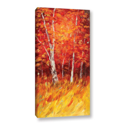 Brushstone Autumn Birches Gallery Wrapped Canvas Wall Art