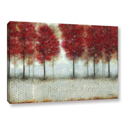 Brushstone Autumn Blaze Gallery Wrapped Canvas Wall Art