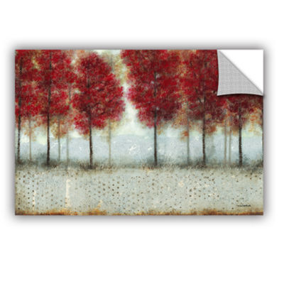 Brushstone Autumn Blaze Removable Wall Decal