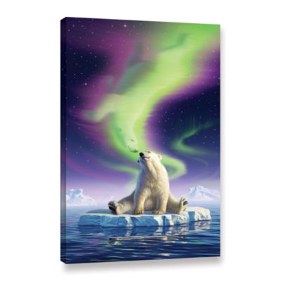 Brushstone Artic Kiss Gallery Wrapped Canvas Wall Art