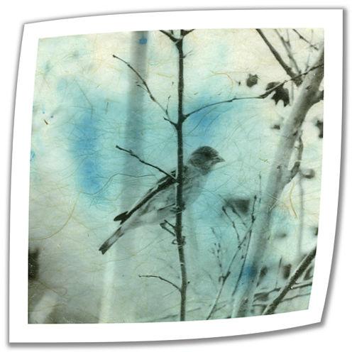 Brushstone Asian Bird Canvas Wall Art
