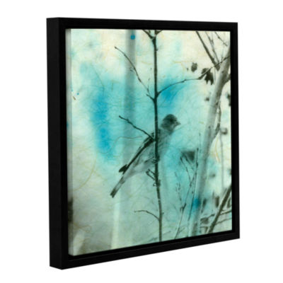 Brushstone Asian Bird Gallery Wrapped Framed Canvas Wall Art