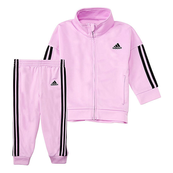 adidas Girls 2-pc. Pant Set Preschool Plus