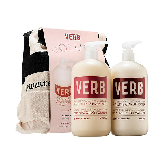 Verb Volume Shampoo & Conditioner Liter Duo