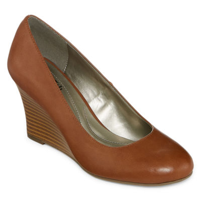 east 5th Womens Ef Cassandra Pumps Slip-on Round Toe Wedge Heel