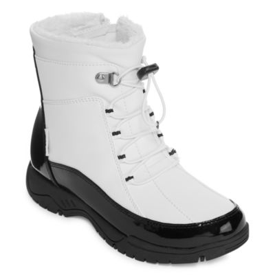 Totes Womens Robin Winter Boots Lace-up