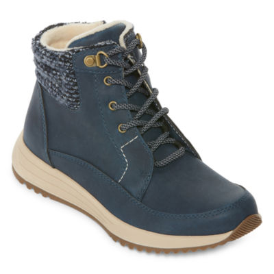 Totes Womens Neve Winter Boots Lace-up