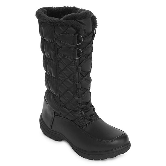 777c4073c08b1 Totes Womens Tracey Insulated Winter Boots Lace-up - JCPenney