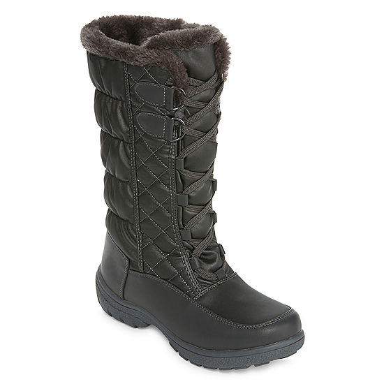 76a1e431bdf Totes Womens Tracey Insulated Winter Boots Lace-up - JCPenney