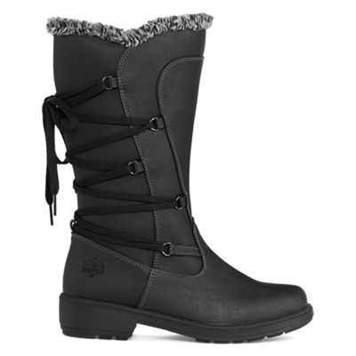 Totes Womens Ivy Waterproof Winter Boots Zip