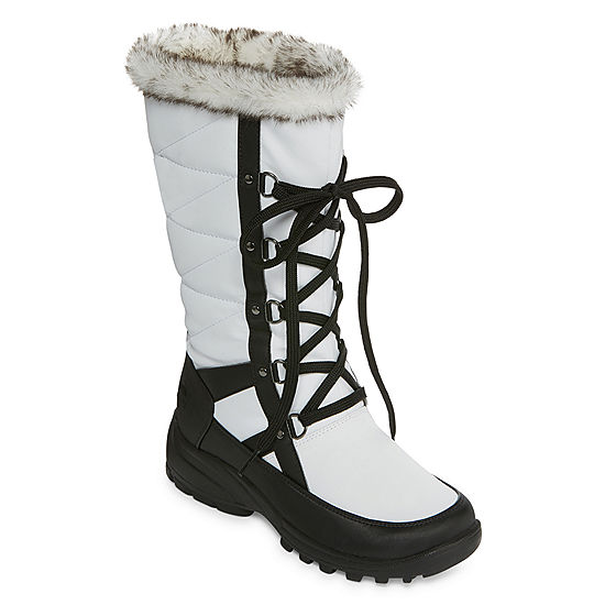 c2b0278c737b Totes Womens Wren Waterproof Winter Boots Lace-up - JCPenney