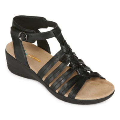 Yuu Womens Hilly Strap Sandals