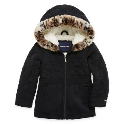 Limited Too Midweight Fleece Jacket-Toddler Girls