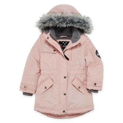 Big Chill Girls Hooded Heavyweight Parka Preschool / Big Kid