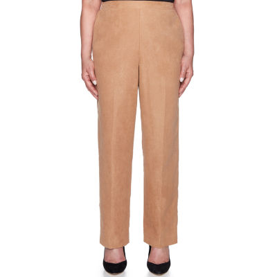 Alfred Dunner New Flash Knit Pull-On Pants-Misses Short
