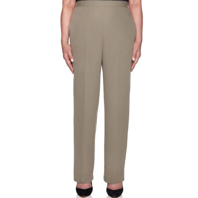 Alfred Dunner Autumn In New York Classic Fit Woven Pull-On Pants