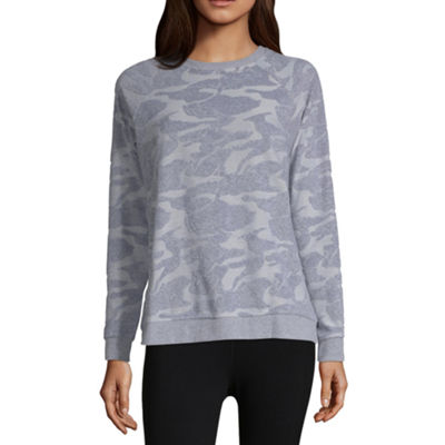 Xersion Camo French Terry Sweatshirt