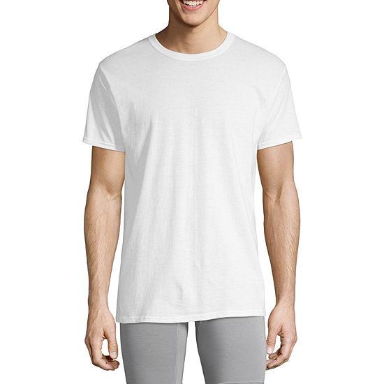 Hanes Men's FreshIQ™ ComfortSoft® Crewneck Undershirt 4-Pack ®
