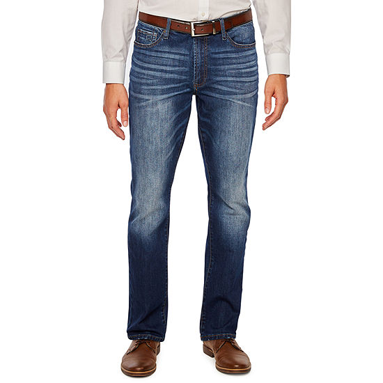 Collection by Michael Strahan  Mens Straight Fit Straight Leg Jean