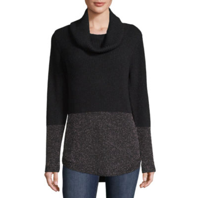 Alyx Long Sleeve Cowl Neck Pullover Sweater