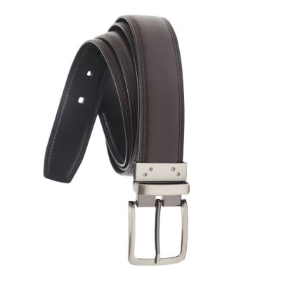 Stafford® Reversible Leather Men's Belt–Big & Tall