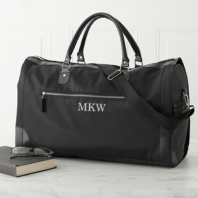 Cathy's Concepts Monogram Convertible Duffel Bag