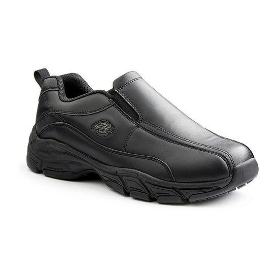 Dickies Mens Athletic Slip-On Shoe Round Toe