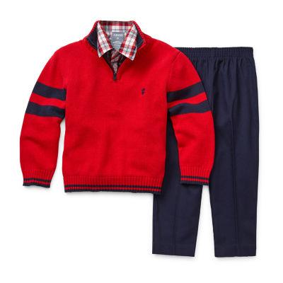 IZOD Boys 3-pc. Pant Set Toddler