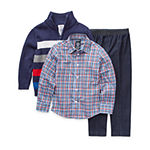 IZOD Boys 3-pc. Striped Pant Set Preschool