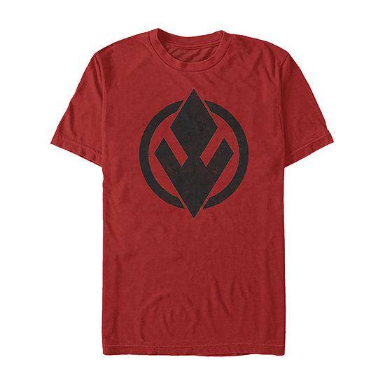 Rise Of Skywalker Sith Trooper Logo Mens Crew Neck Short Sleeve Star Wars Graphic T-Shirt