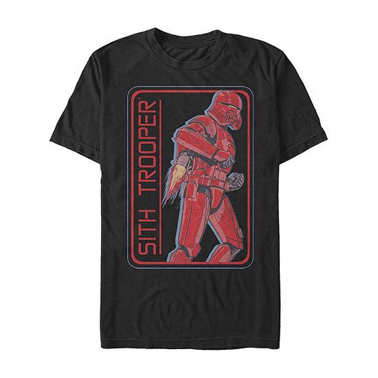 Rise Of Skywalker Retro Sith Trooper Jet Pack Mens Crew Neck Short Sleeve Star Wars Graphic T-Shirt