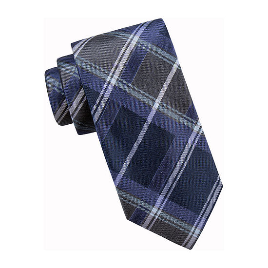Collection by Michael Strahan  Plaid Tie