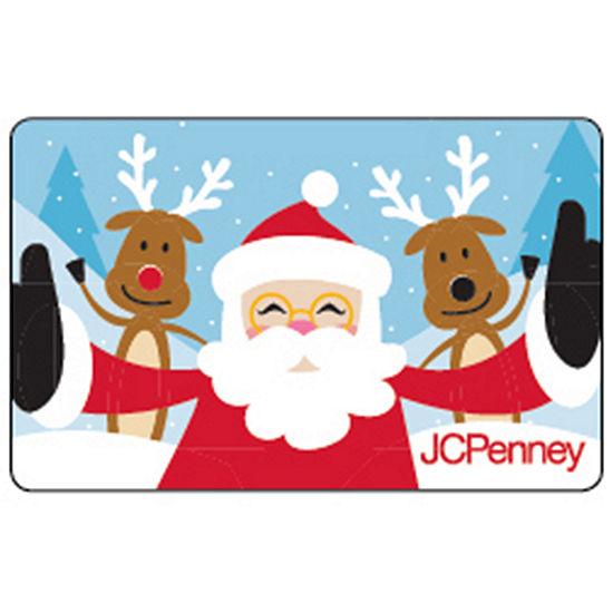 Santa & Reindeer Selfie Gift Card