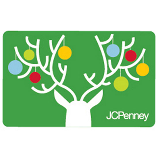 Reindeer Ornaments GIft Card