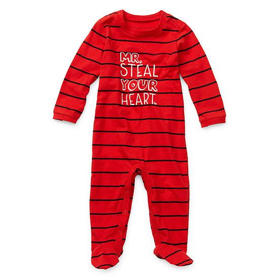 Okie Dokie Valentines Boys Sleep and Play - Baby