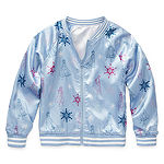 Disney Girls Frozen Lightweight Bomber Jacket Preschool / Big Kid