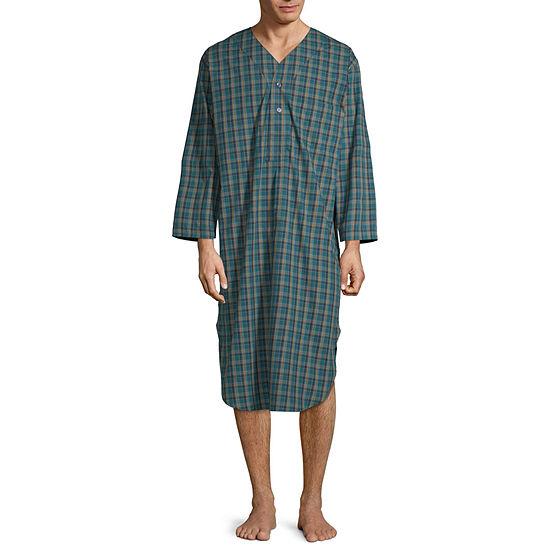 Stafford Mens Big Nightshirt Long Sleeve