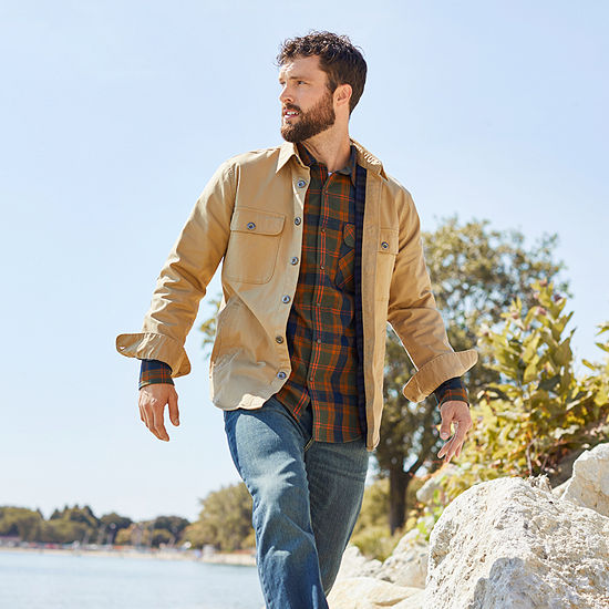 Shop The Look: SJB Outdoor Shirt Jacket & Plaid Shirt