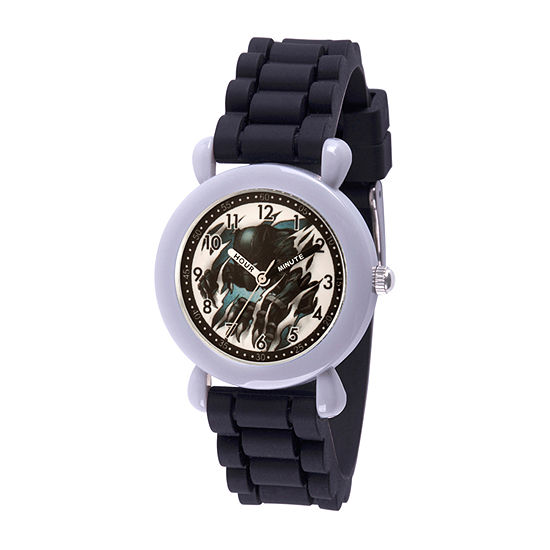 Marvel Marvel Boys Black Strap Watch-Wma000385