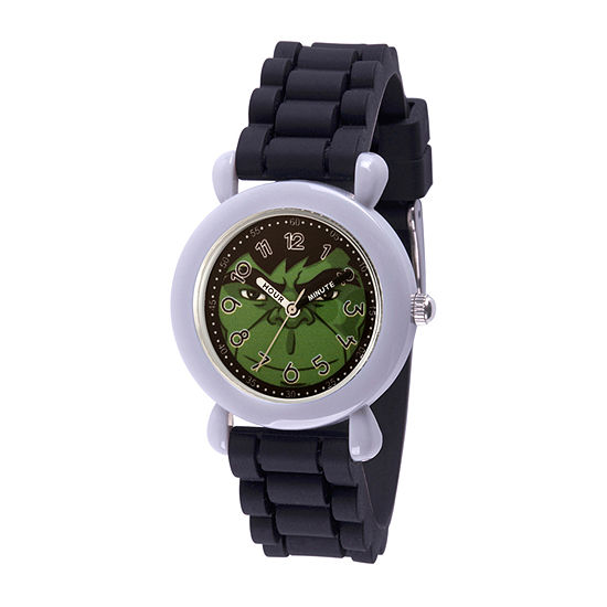 Marvel Hulk Boys Black Strap Watch-Wma000392