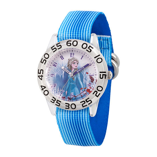 Girls Blue Strap Watch-Wds000792