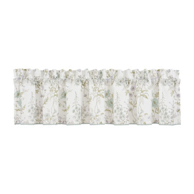 Queen Street Kate Rod-Pocket Tailored Valance
